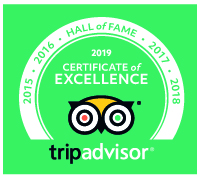 Trip Advisor 2019 Hall of Fame