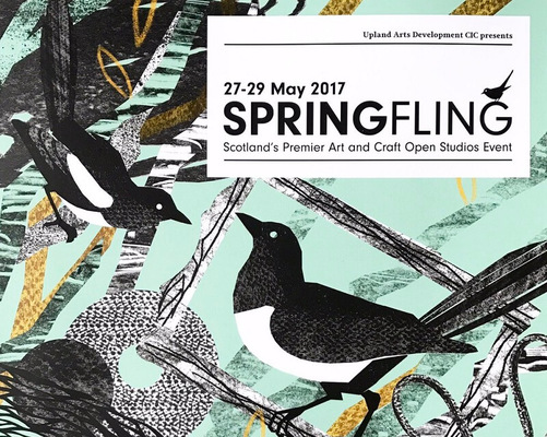 2017 Spring Fling & Places to See and Buy Art in Dumfries and Galloway