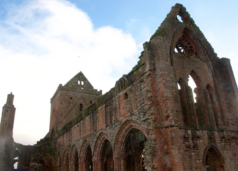 Sweetheart Abbey Scotland History Sites to visit Dumfries and Galloway