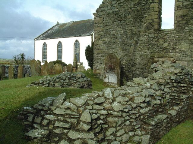 St Ninians Chapel and Cave Scottish heritage sites